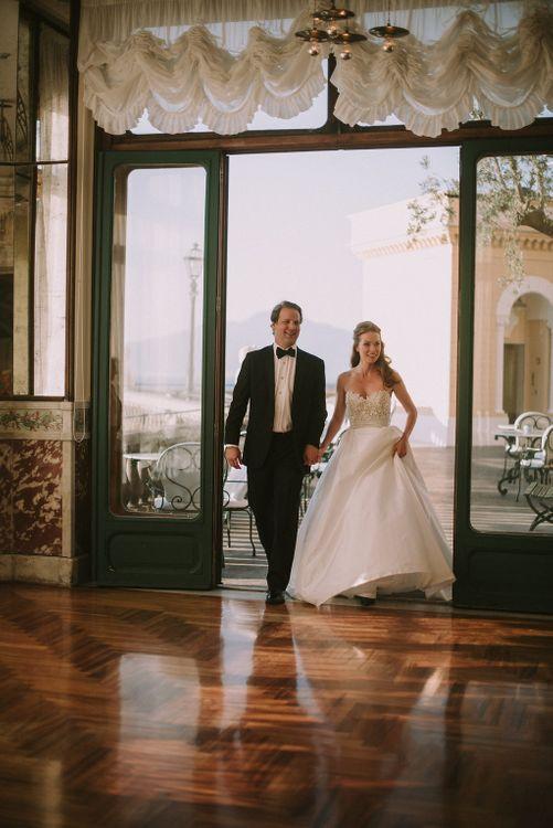 Bride & Groom Reception Entrance