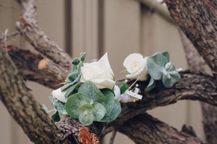 Rose & Eucalyptus Buttonhole
