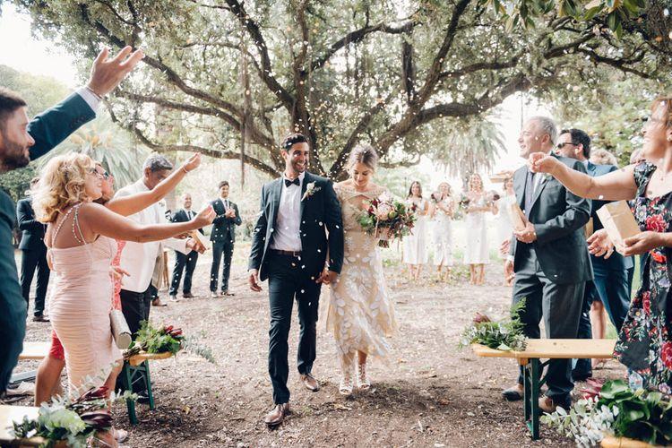 Bride & Groom Ceremony Exit | Just Married