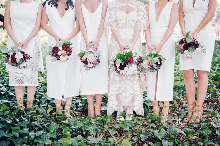 Bridal Party | Protea Bouquets