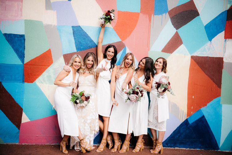 Stylish Bridal Party