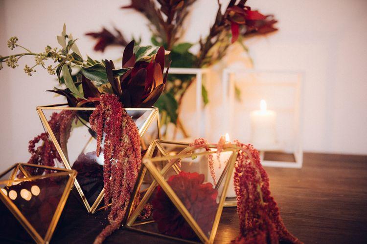 Terrarium Wedding Decor