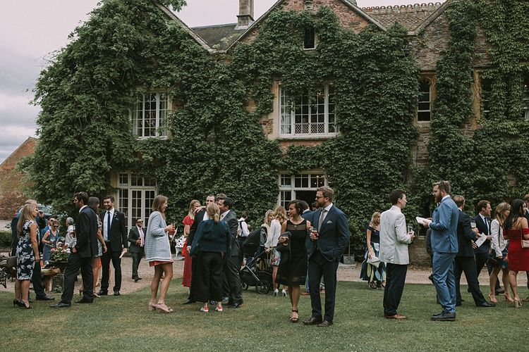 Blue & White Outdoor Summer Wedding at Maunsel House, Somerset | Maureen Du Preez Photography