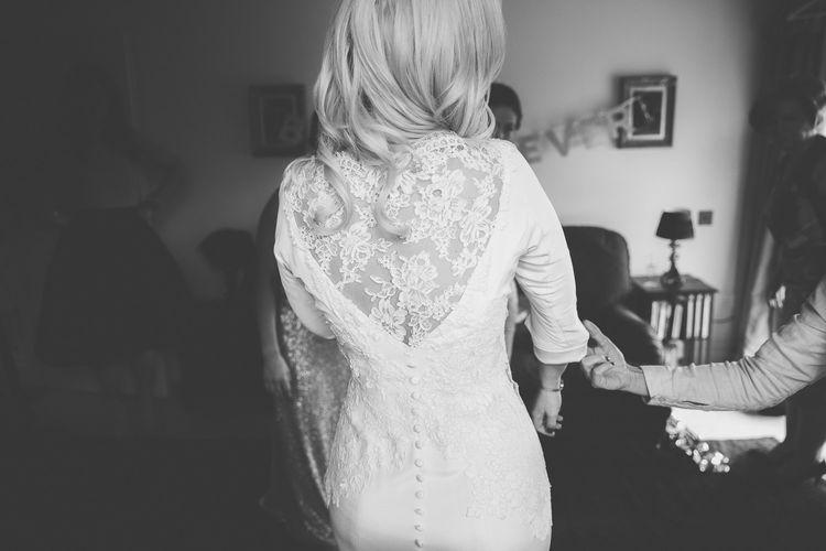 Lace Elizabeth Stuart 'Clara' Bridal Gown