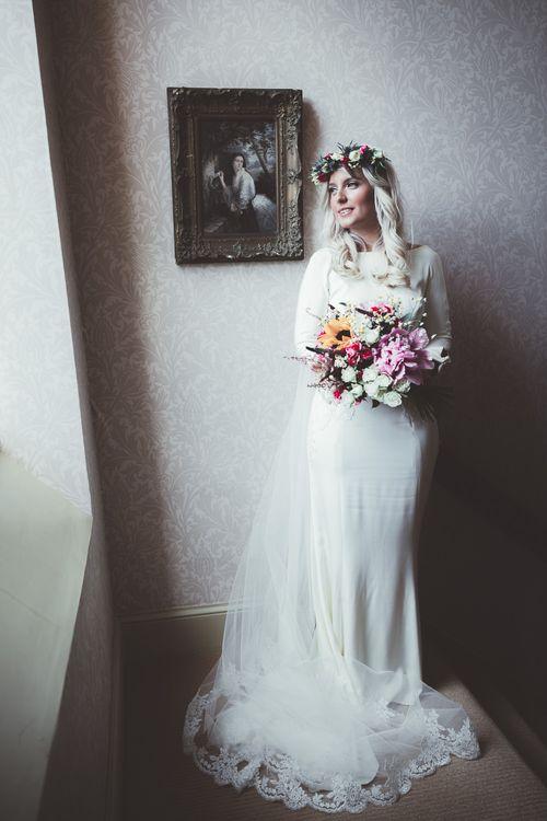 Bride in Lace Elizabeth Stuart 'Clara' Wedding Dress