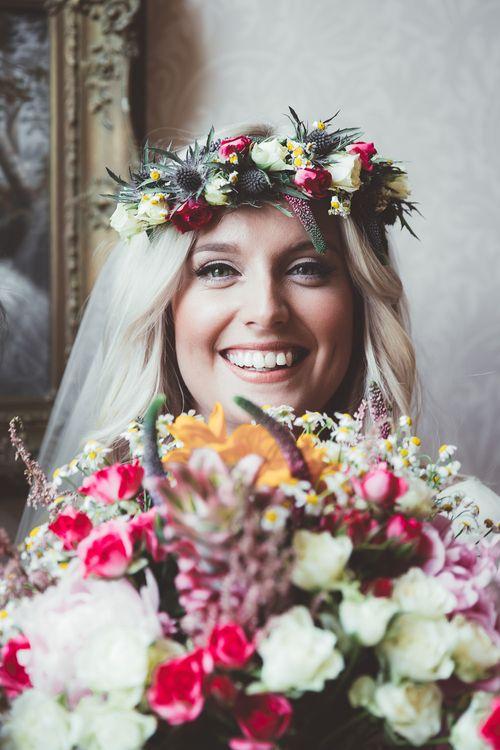 Bright Bouquet & Flower Crown