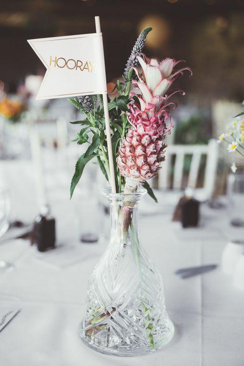 Floral Centrepiece | Mini Pineapple