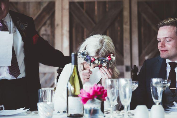 Wedding Speeches | Emotional Bride