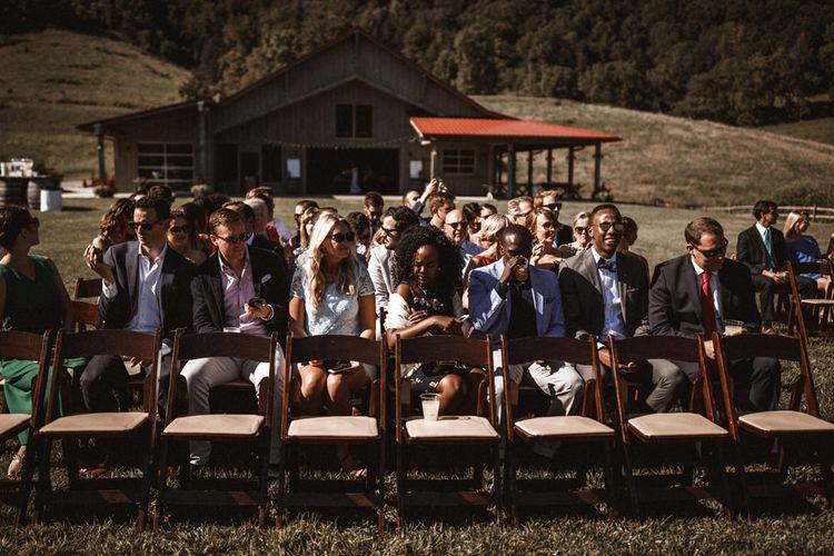 Outdoor Wedding at Claxton Farm in Weaverville, North Carolina | Benjamin Wheeler Photography