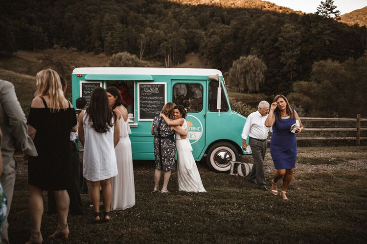 Ice-Cream Truck | Outdoor Wedding at Claxton Farm in Weaverville, North Carolina | Benjamin Wheeler Photography