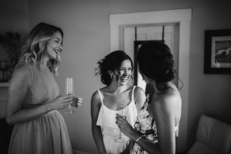 Bridal Preparations | Outdoor Wedding at Claxton Farm in Weaverville, North Carolina | Benjamin Wheeler Photography