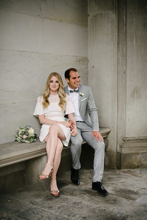 Stylish City Hall, Copenhagen, Elopement by Rochelle Coote Photography