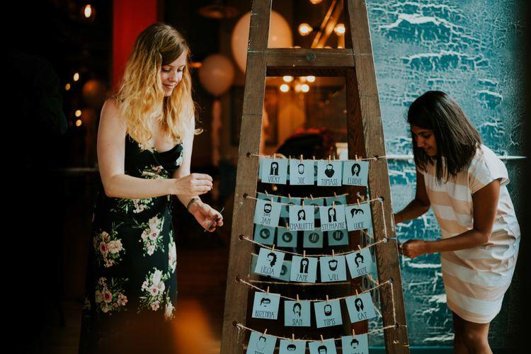 Wedding Decor | Contemporary Wedding at the Artisan Bar Clerkenwell, London | Bridgwood Wedding Photography | Long Story Short Film