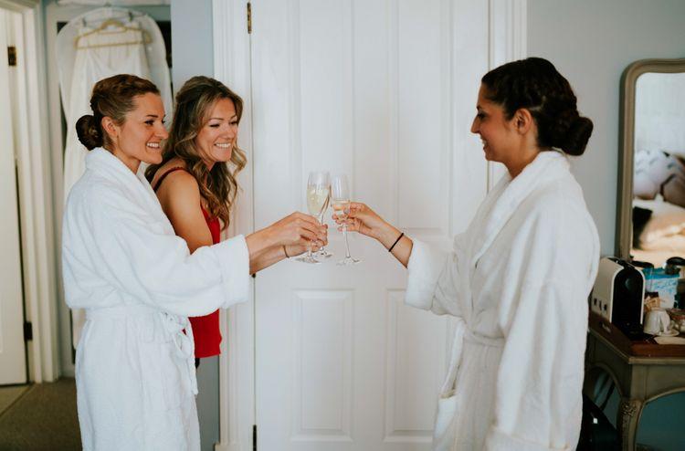 Bridal Preparations | Contemporary Wedding at the Artisan Bar Clerkenwell, London | Bridgwood Wedding Photography | Long Story Short Film