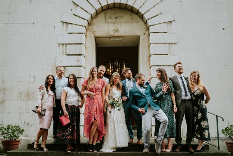 Wedding Guests | Contemporary Wedding at the Artisan Bar Clerkenwell, London | Bridgwood Wedding Photography | Long Story Short Film