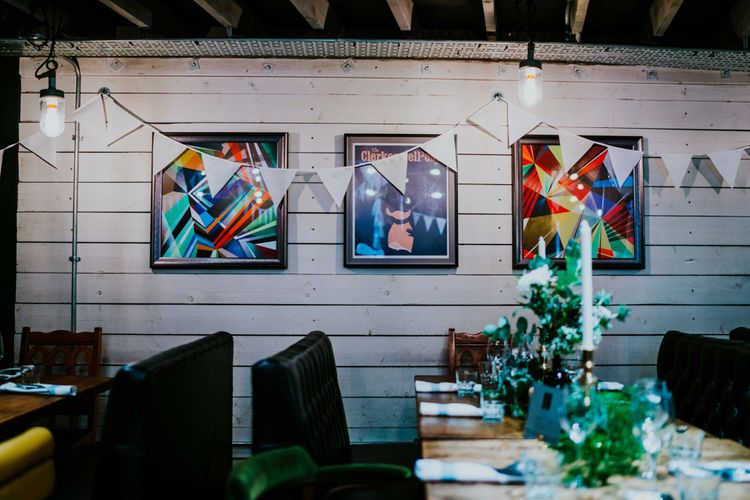 Contemporary Wedding at the Artisan Bar Clerkenwell, London | Bridgwood Wedding Photography | Long Story Short Film