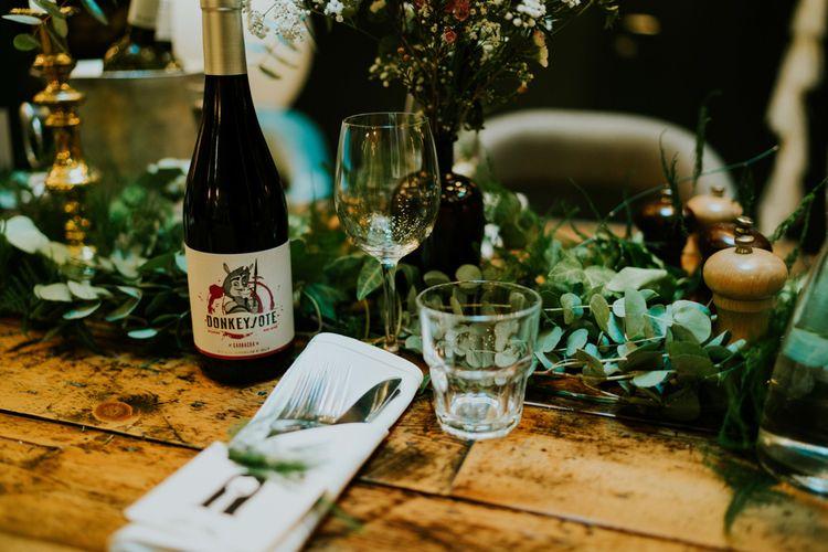 Place Setting | Contemporary Wedding at the Artisan Bar Clerkenwell, London | Bridgwood Wedding Photography | Long Story Short Film