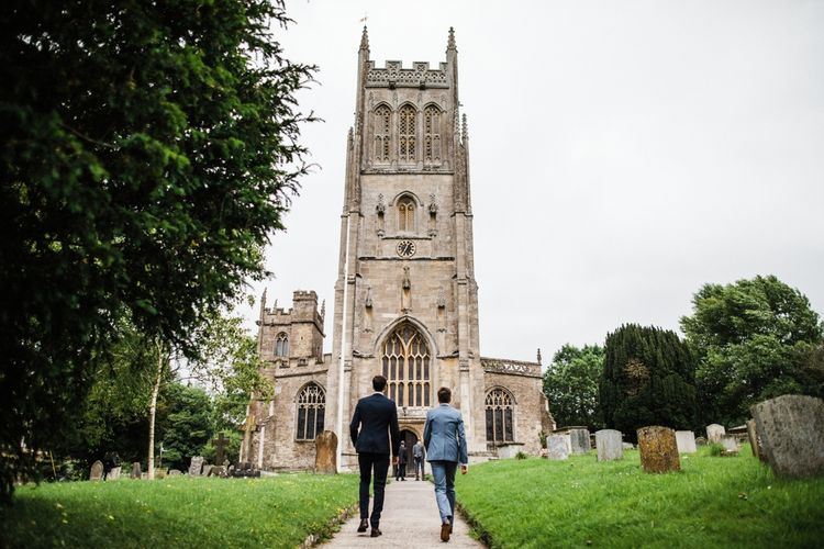 Beautiful St Mary's Church in Burton, The Cotswolds. Image by Through the Woods We Ran.