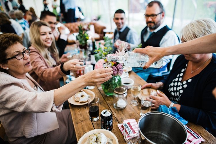 What to drink at a polish wedding? Vodka, and lots of it! Image by Through the Woods We Ran.