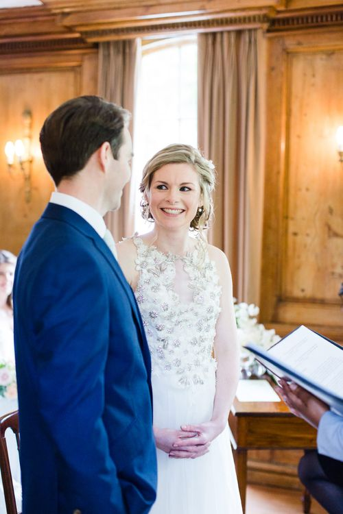 Elegant Blush Wedding at Burgh House   Ruth Milliam Bridal Couture Gown   Bridesmaids in Needle & Thread & Oasis Separates   Cecelina Photography