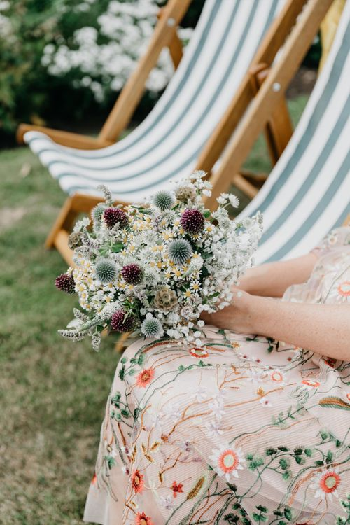 Dried Flower Bouquet For Wedding