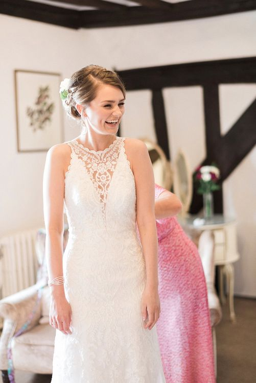 Wedding Morning Preparations | Romantic Pastel Wedding at Prested Hall, Essex | Kathryn Hopkins Photography | Sugar Lens Productions