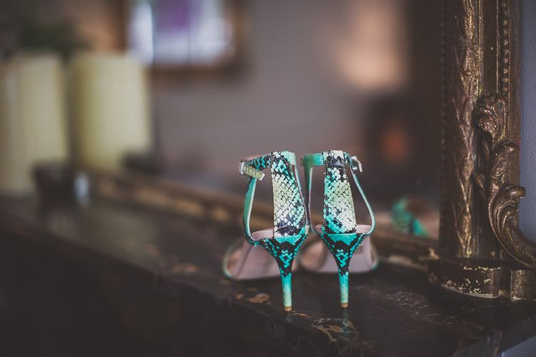 Kurt Geiger, Kollude Carvela' Shoes in Turquoise,