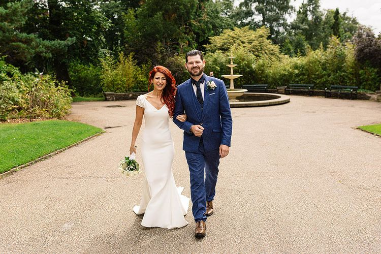 Stylish Industrial Wedding At The Chimney House Sheffield With Bride In Pronovias & Bridesmaids In Lilac Dresses From ASOS Images By Paul Joseph Photography