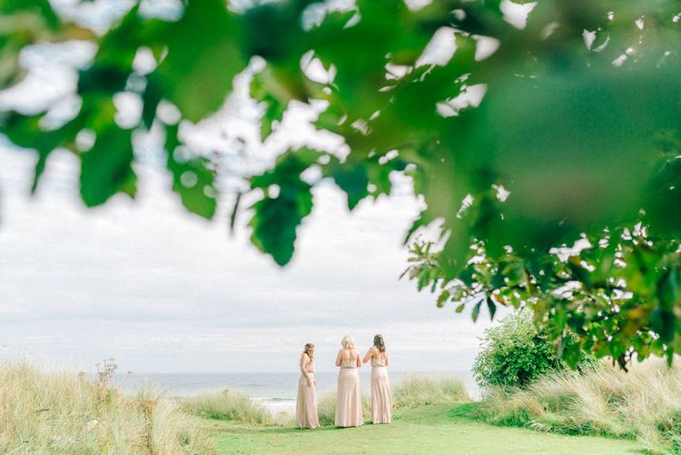 Pink Just Bridesmaid Dresses | Matt Ethan Photography | In House Films
