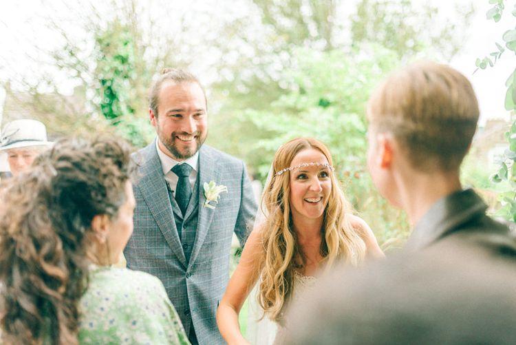| Bride in Yolan Cris Wedding Dress from Miss Bush Bridal | Matt Ethan Photography | In House Films