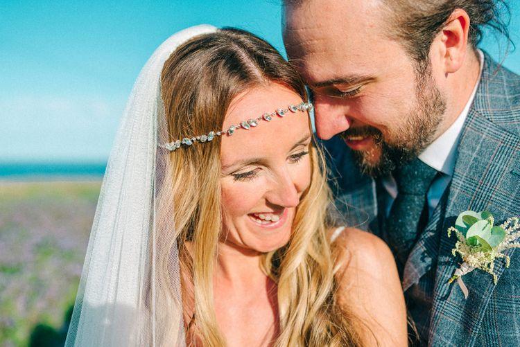 Bride in Yolan Cris Wedding Dress from Miss Bush Bridal | Matt Ethan Photography | In House Films