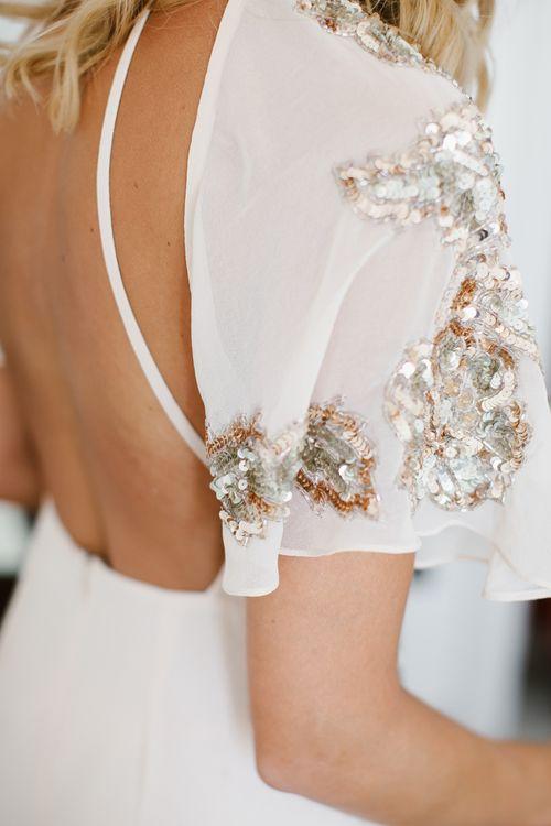Embellished Bridesmaid Dress | Chris Barber Photography