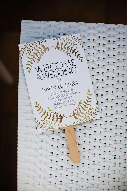 Fan Wedding Stationery | Chris Barber Photography