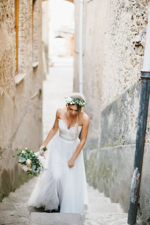Bride in Watters Gown | Chris Barber Photography