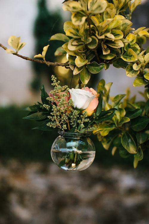 Flower Stems in Votives | Chris Barber Photography