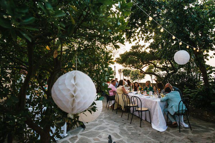 Al Fresco Outdoor Wedding Reception | Chris Barber Photography