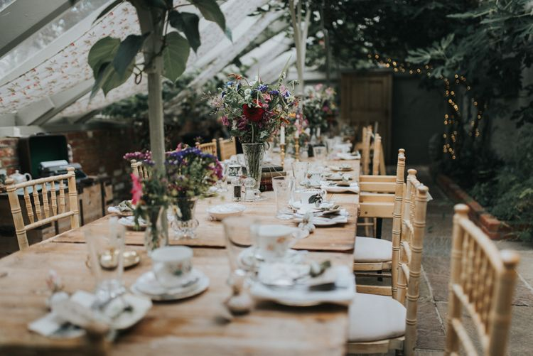 Intimate Afternoon Tea Wedding Breakfast