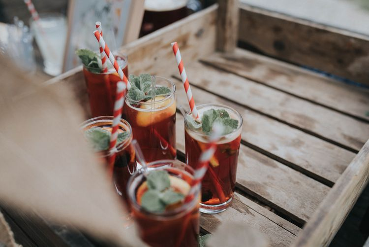 Pimms Wedding Drinks