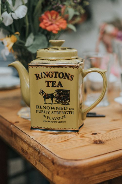Tea Pot Wedding Decor