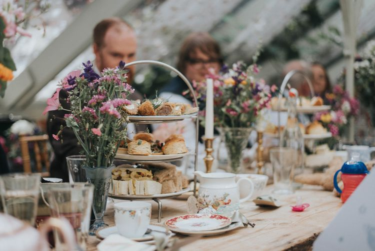Afternoon Tea Wedding Breakfast