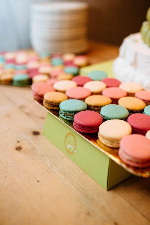 Laudree Macaron Wedding Dessert