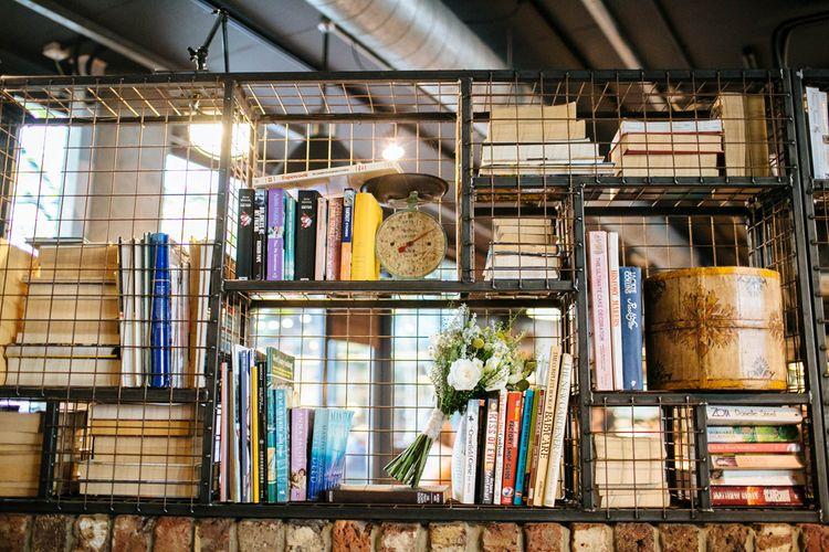Bookshelves At The Hoxton