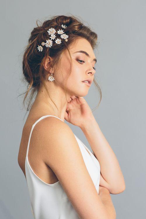 Crown Daisy Earrings2