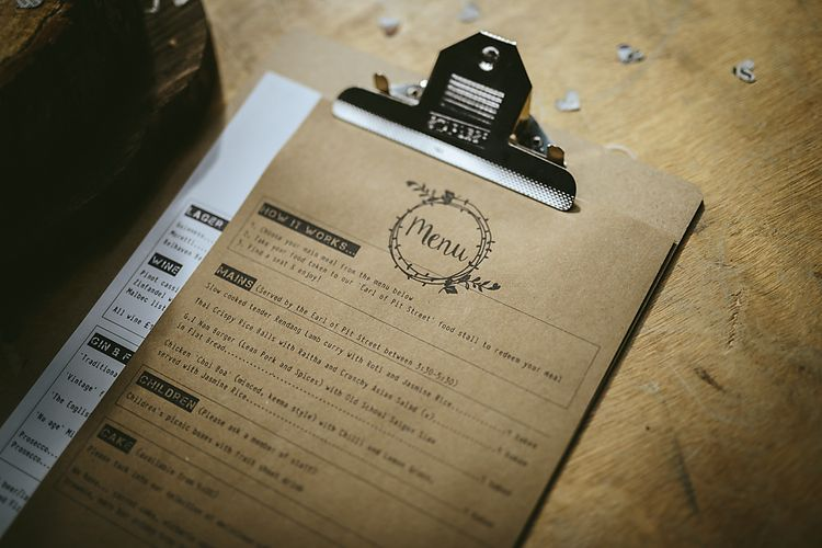 Wedding Stationery Craft Paper & Mini Clip Board