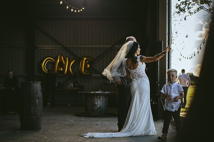 Industrial Wedding At Northumberland Airfield