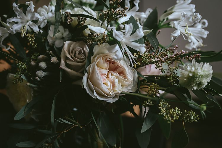 Romantic Wedding Flowers In Whites & Pinks