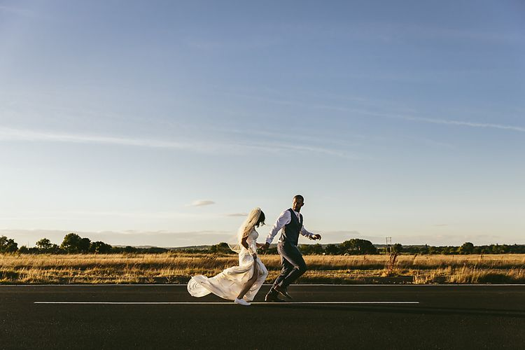 Northumberland Airfield Wedding