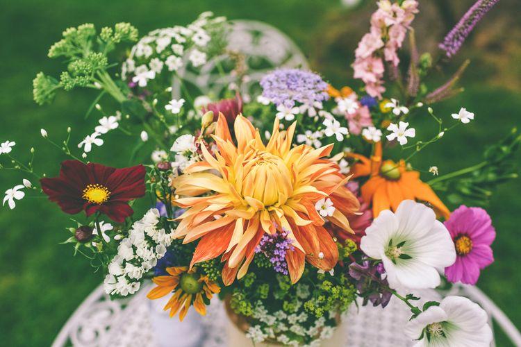 Bright & Bold Wedding Flowers