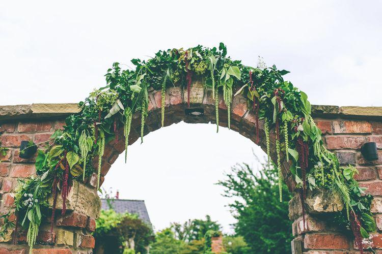 Greenery & Foliage Arch Wedding Decor