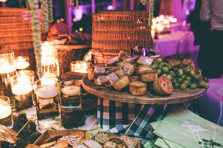 Pie Table Wedding Evening Food